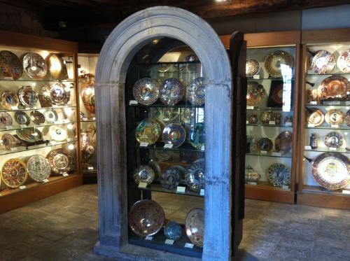 Museo della Maiolica a lustro della Torre medioevale di Porta Romana