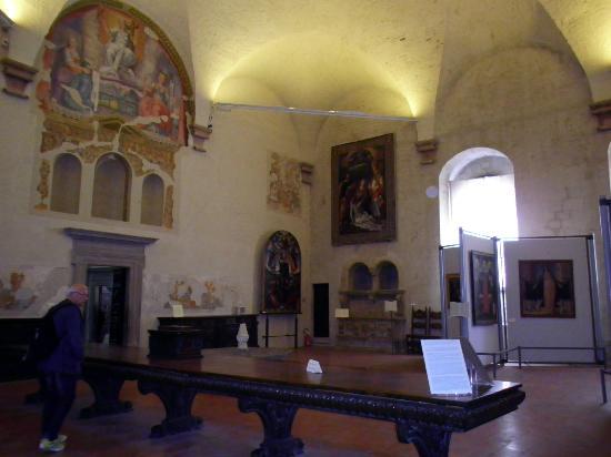 Museo Civico di Palazzo dei Consoli: Pinacoteca e Museo archeologico