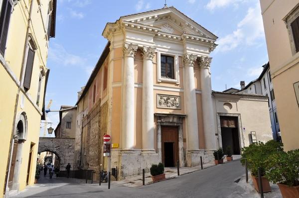 Chiesa di S. Ansano e Cripta di S. Isacco