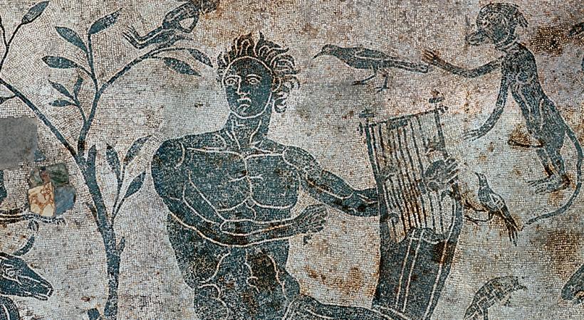 Mosaico romano di S. Elisabetta