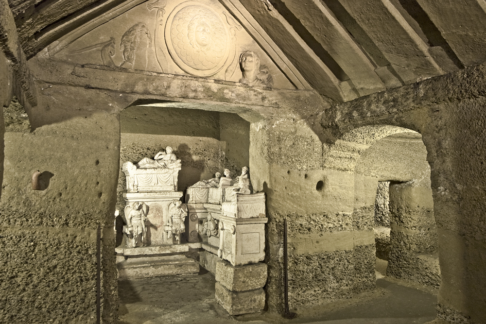 Ipogeo dei Volumni, Antiquarium e Necropoli del Palazzone