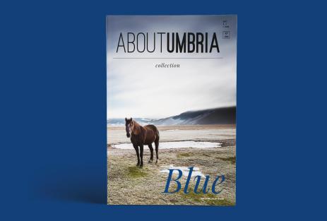 Cover rivista Blue