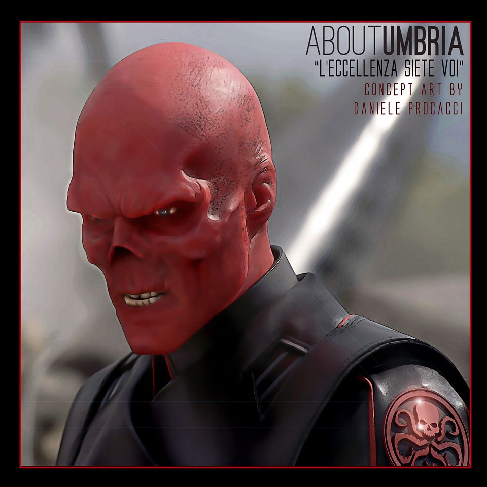 Un supercattivo dell'universo Marvel: Red Skull
