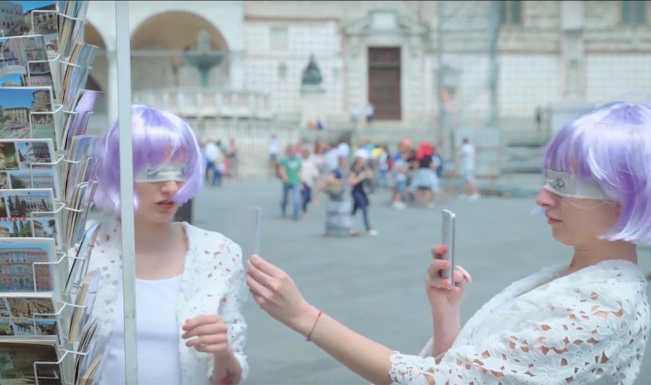 Un fantasma a Perugia, video
