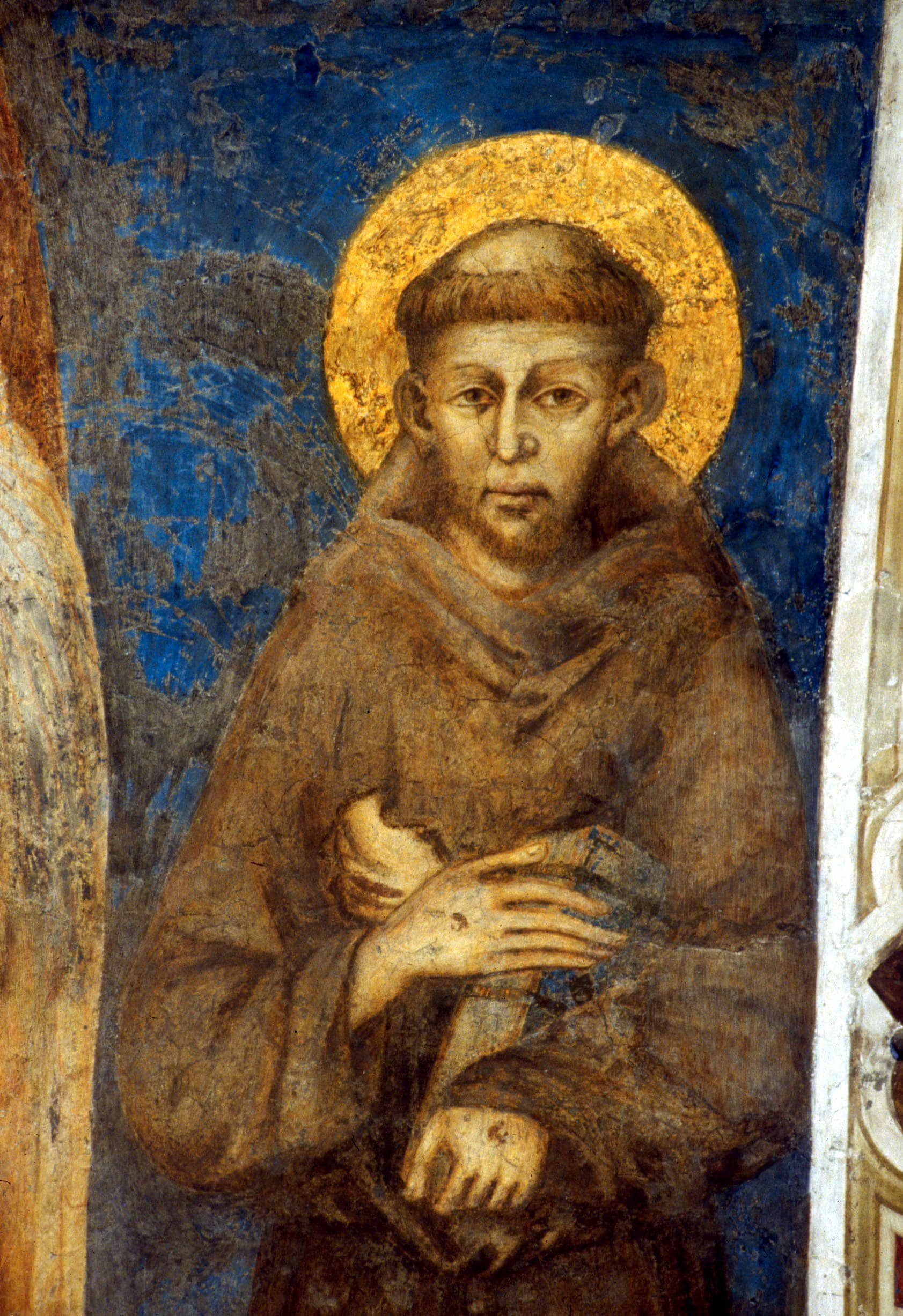 affresco di San Francesco
