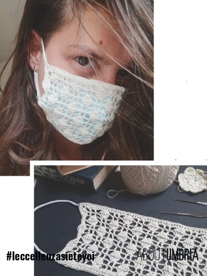 Un copri-mascherina alla moda
