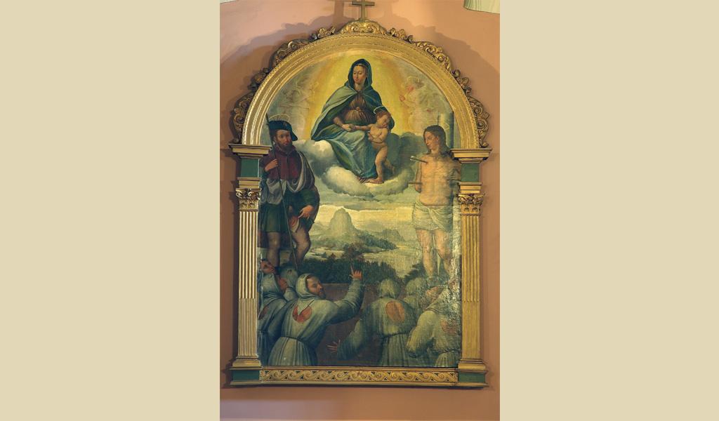 Madonna con Gesù Bambino fra San Sebastiano e San Rocco