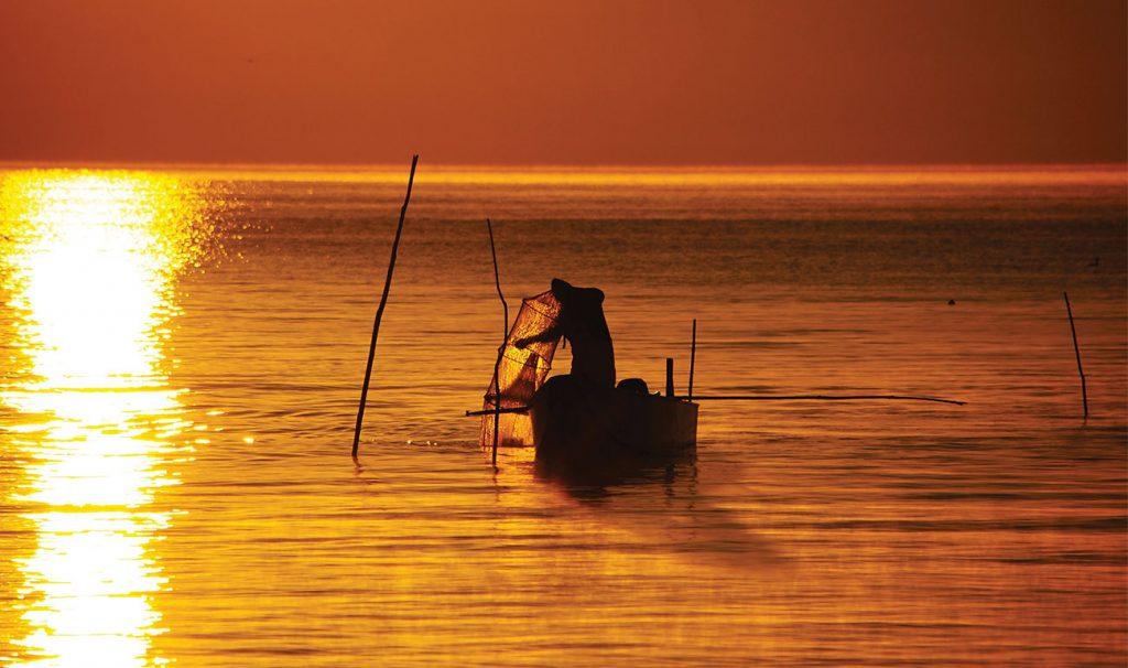 lago Trasimeno_ tramonto