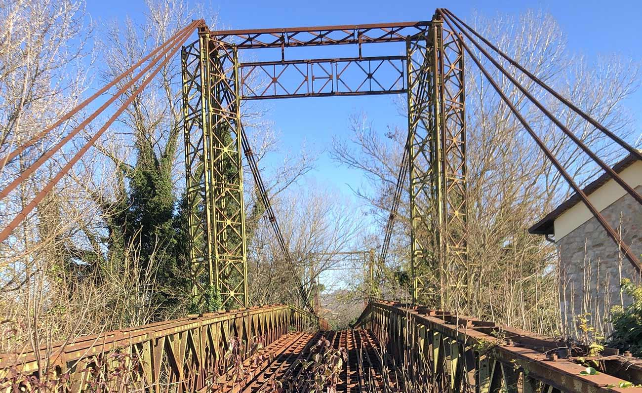 La nuova vita del ponte Bailey
